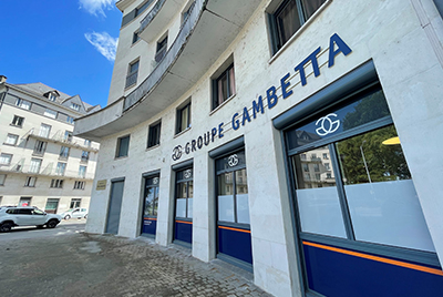 arrivée Groupe Gambetta LIGERIS Tours