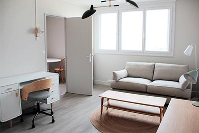 location logement meublé Tours LIGERIS