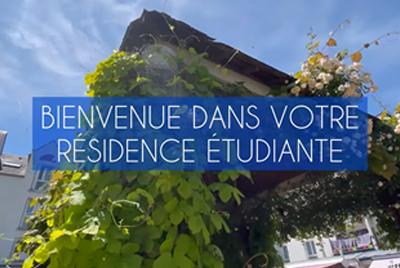 visite virtuelle logement étudiant Tours LIGERIS